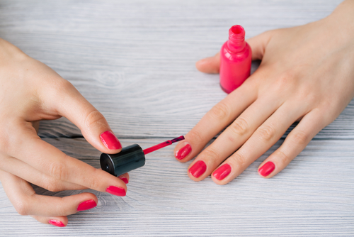 2 nail colours - Wheatish complexion
