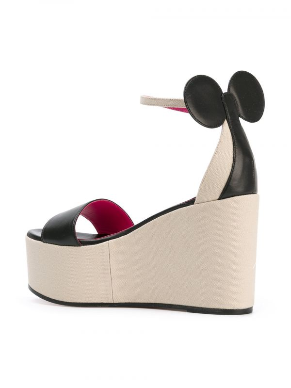 9 Minnie Wedge minnie mouse heels