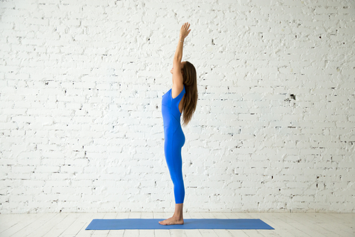 1 basic yoga poses - mountain pose
