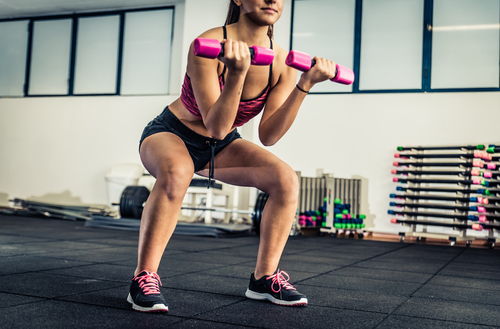 1 exercises for toned arms squats