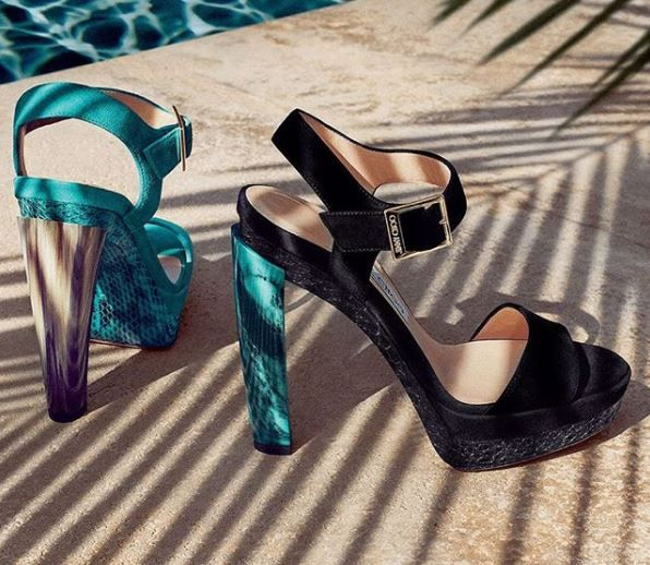 4. Most expensive shoes - Jimmy Choo