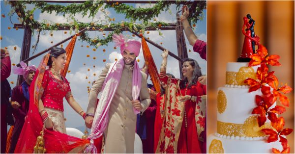 7 shaadi by marriott - bride and groom