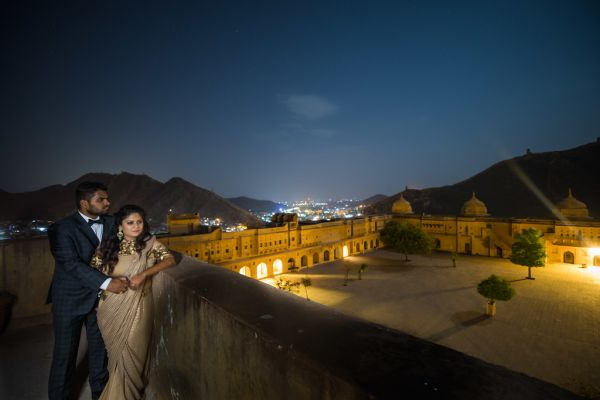 16 fort wedding amer fort view
