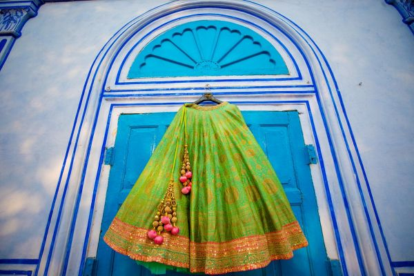 17 fort wedding lehenga