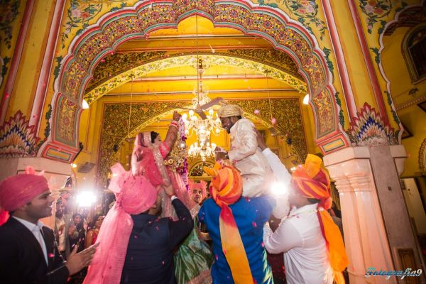 20 fort wedding jaimala