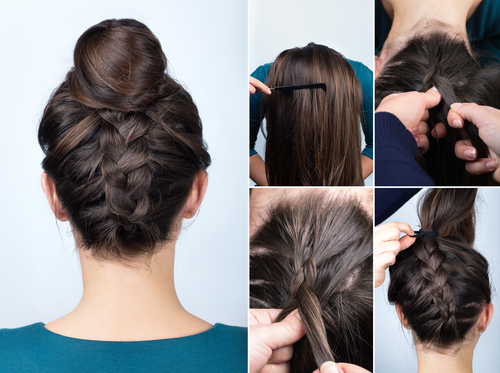 2 easy hairstyles