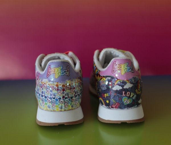 4 lisa frank and reebok collab - shoes
