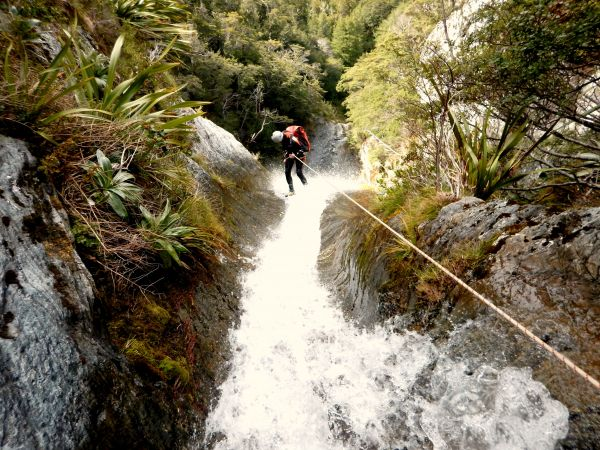 2 unique places in switzerland - Canyoning