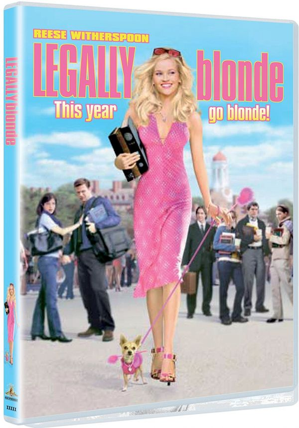 3 films with strong female leads - Legally Blonde