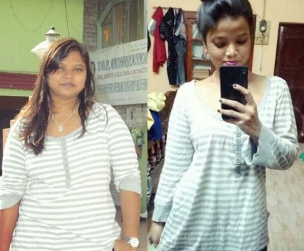 2 weight loss inspirations - titli das