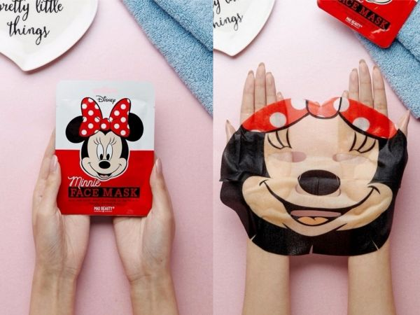 2 face mask - minnie mouse