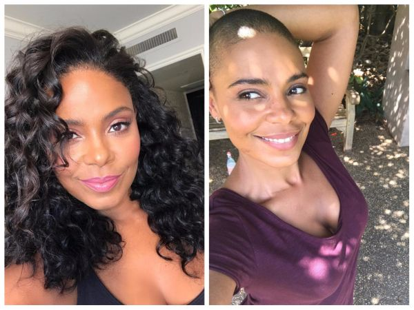 Sanaa Lathan Celebrity Hair Transformations