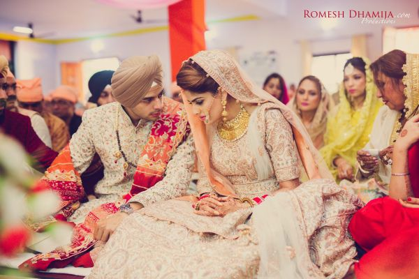 real wedding in goa gurudwara wedding