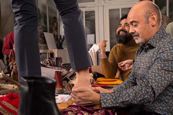 1 Christian Louboutin and Sabyasachi Collaboration