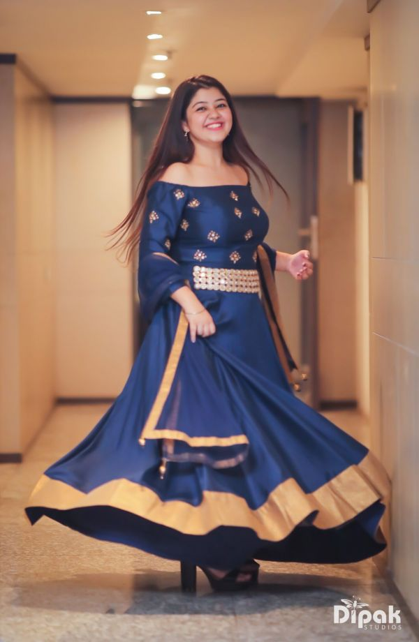 2 wedding season blue lehenga