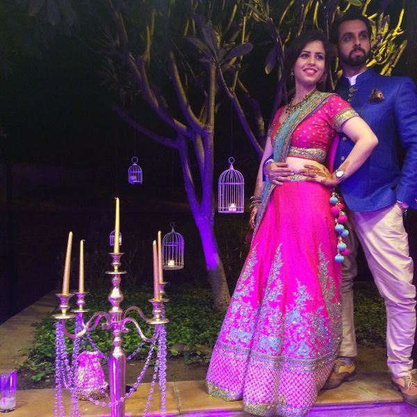 6 wedding season pink and green lehenga