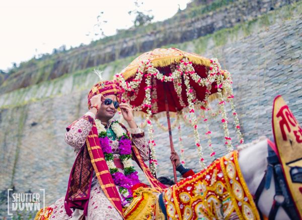 12 destination wedding baraat