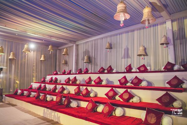 8 kashi wedding amphitheatre seating