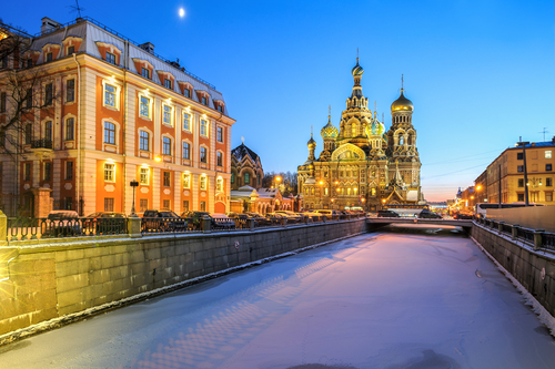 4 book lovers - st petersburg russia - anna karenina