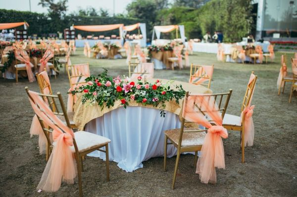 12 day wedding decor chairs