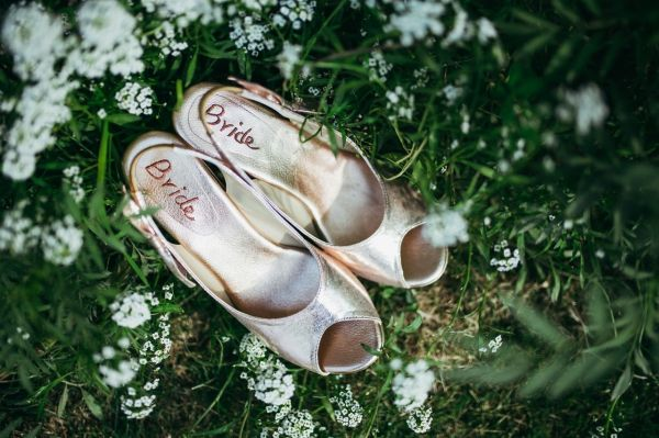 16 day wedding shoes
