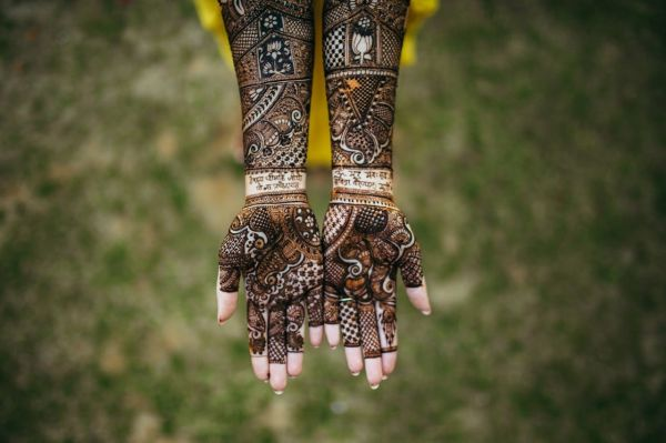 6 day wedding mehendi design