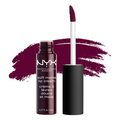 4 NYX Professional Makeup Soft Matte Lip Cream - Transylvania