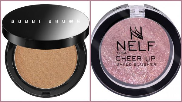 4 make up products - bobbi brown nelf bakes brush