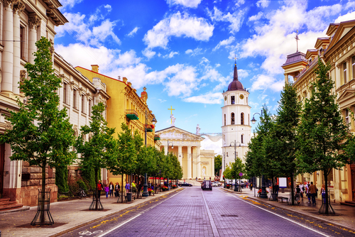 2 affordable european cities - vilnius - lithuania