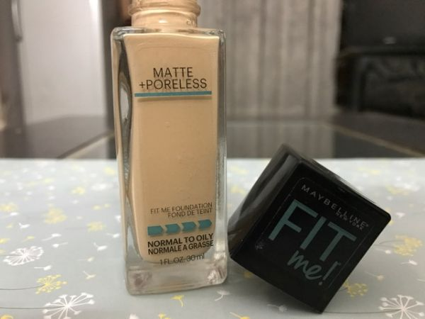 1 shaadi ready look maybelline fit me foundation