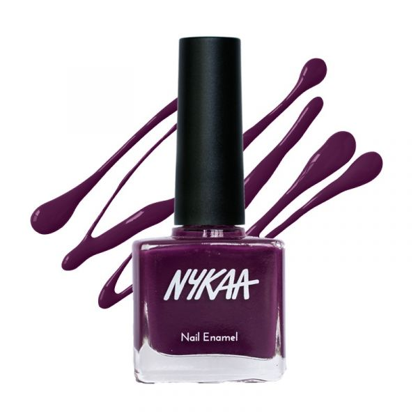 Nykaa Pop Nail Enamel - Why so Plum