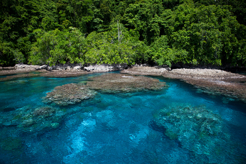 1 least visited countries - solomon islands