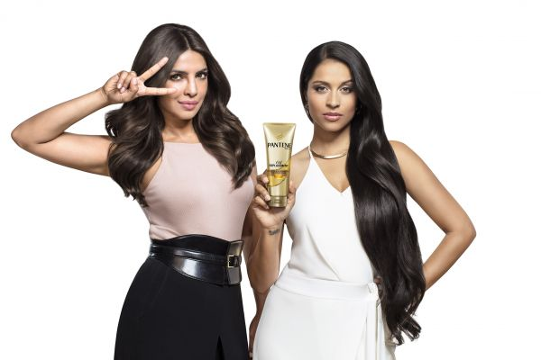 Priyanka Chopra and Lilly Singh for Pantene Oil Replacement