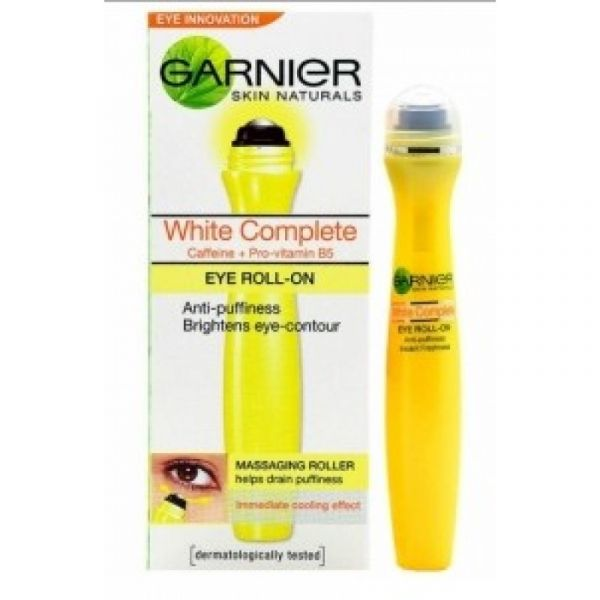 1 cover dark circles Garnier Skin Natural White Complete Eye Roll On