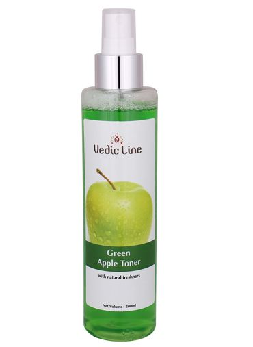 2 fruit based beauty products green apple