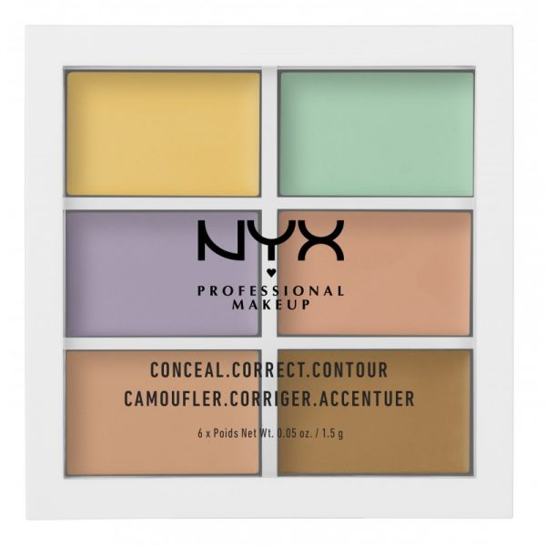 3 cover dark circles NYX Professional Makeup Conceal  Correct  Contour Palette