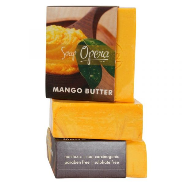 6 fruit based beauty products Soap Opera Butter Soap - Mango