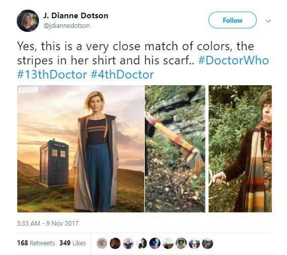 4 13th doctor - tweet