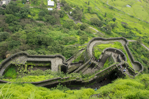 1 forts around mumbai - lohagad fort