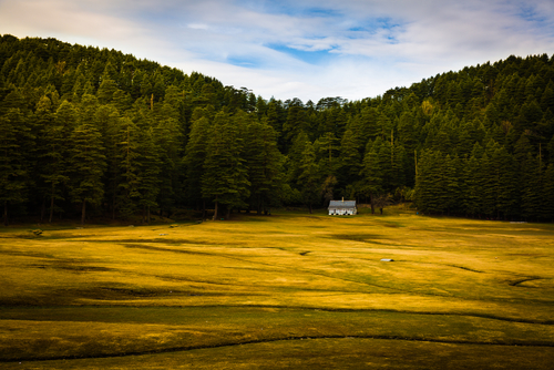 2 indian holiday destinations - khajjiar himachal pradesh
