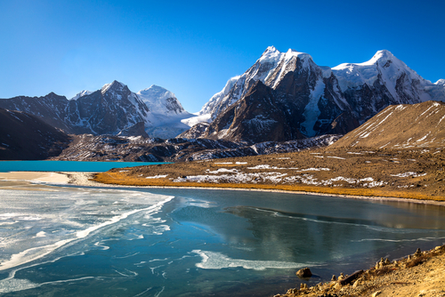 6 indian holiday destinations - gurudongmar lake sikkim