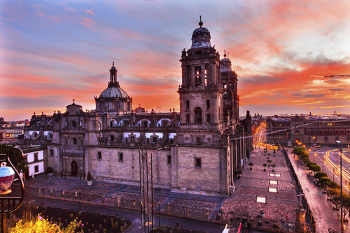 5 history buffs - mexico city