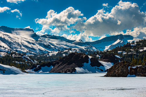 5 frozen lake - ellery lake california