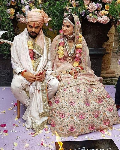 1 virat kohli anushka sharma wedding photos