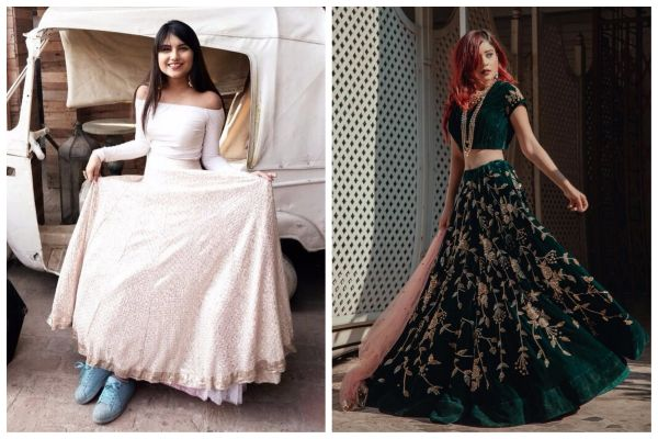 6 minimalist - wedding outfit ideas lehenga