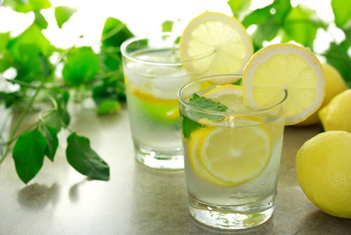 lemon water internal