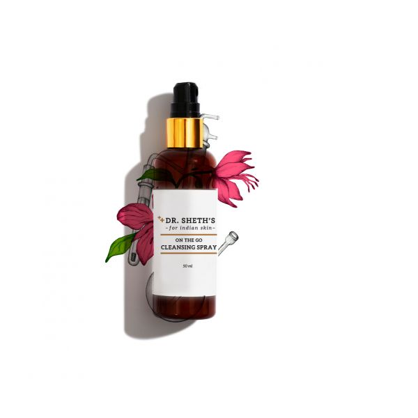 Dr Rekha Sheth On The Go Pollution Cleansing Spray