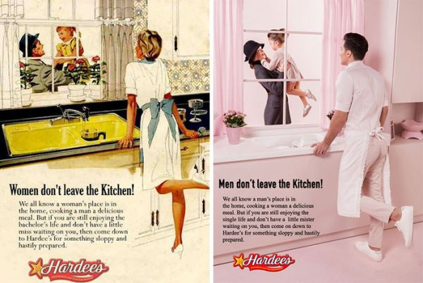 Internal 2 - sexism in vintage ads