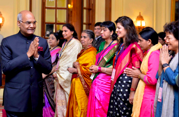1 President Kovind with First Ladies