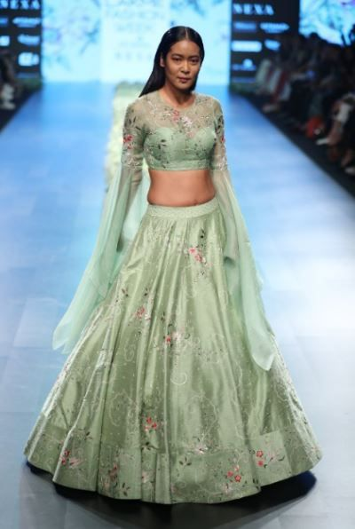 anushree reddy lakme fashion week 1